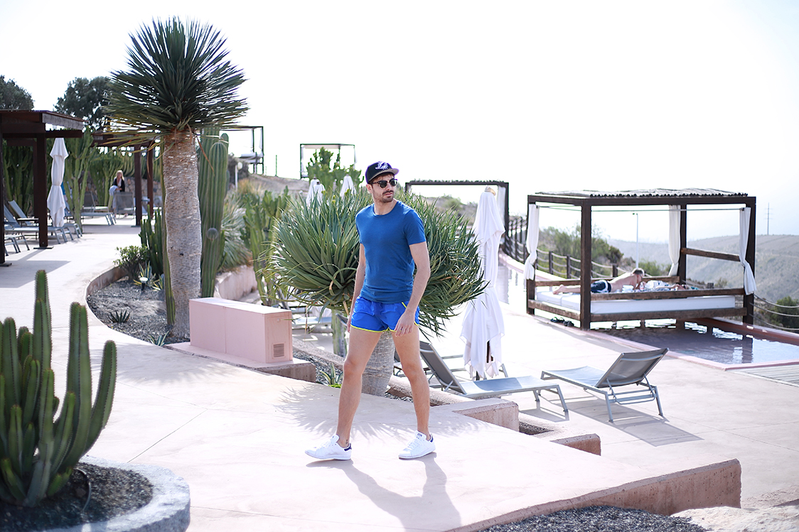 Hotel Sheraton Gran Canaria Salobre Golf Resort Man Look 49_Fran Guzman_Bow Tie Blue_Blogger Masculino_13