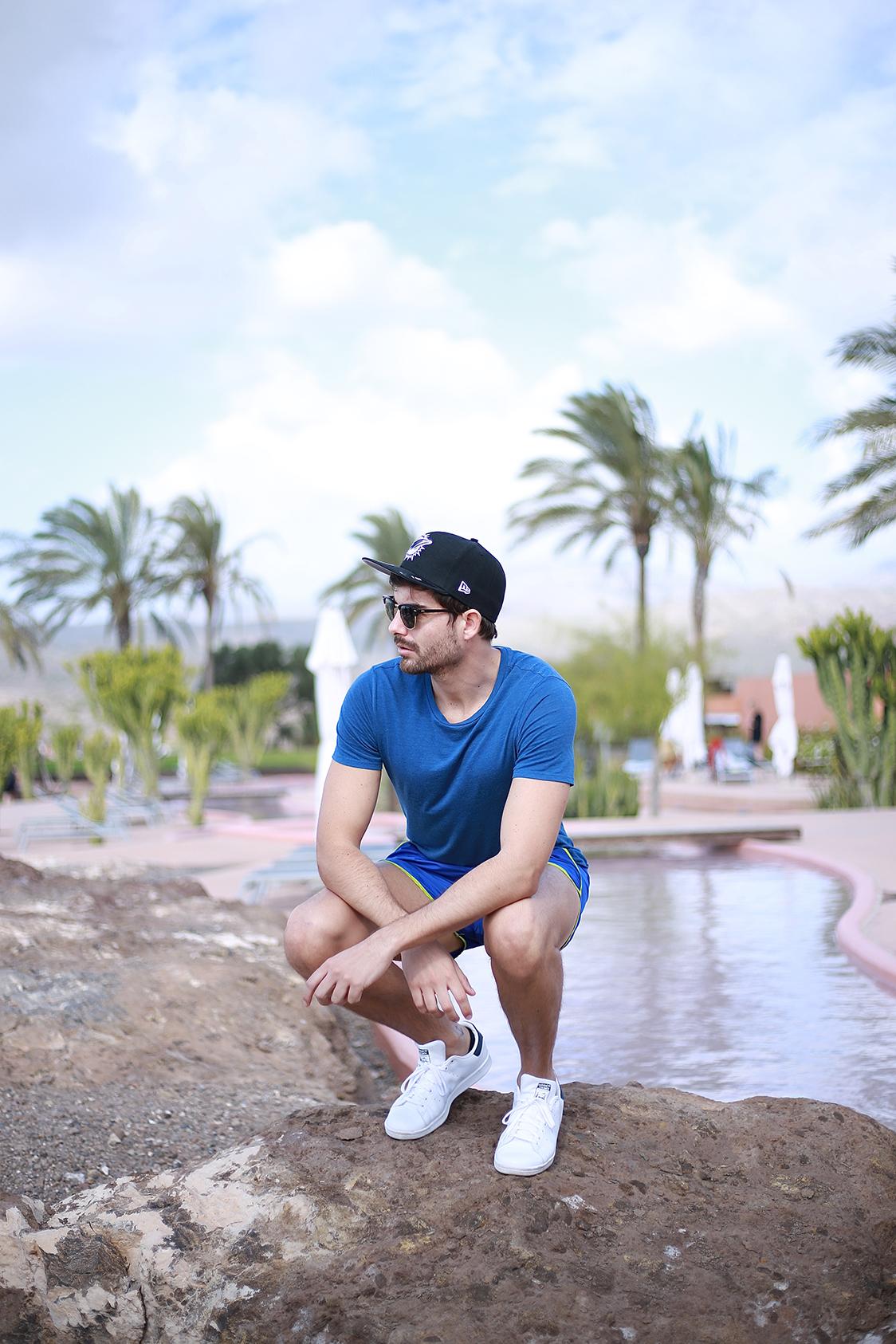 Hotel Sheraton Gran Canaria Salobre Golf Resort Man Look 49_Fran Guzman_Bow Tie Blue_Blogger Masculino_7