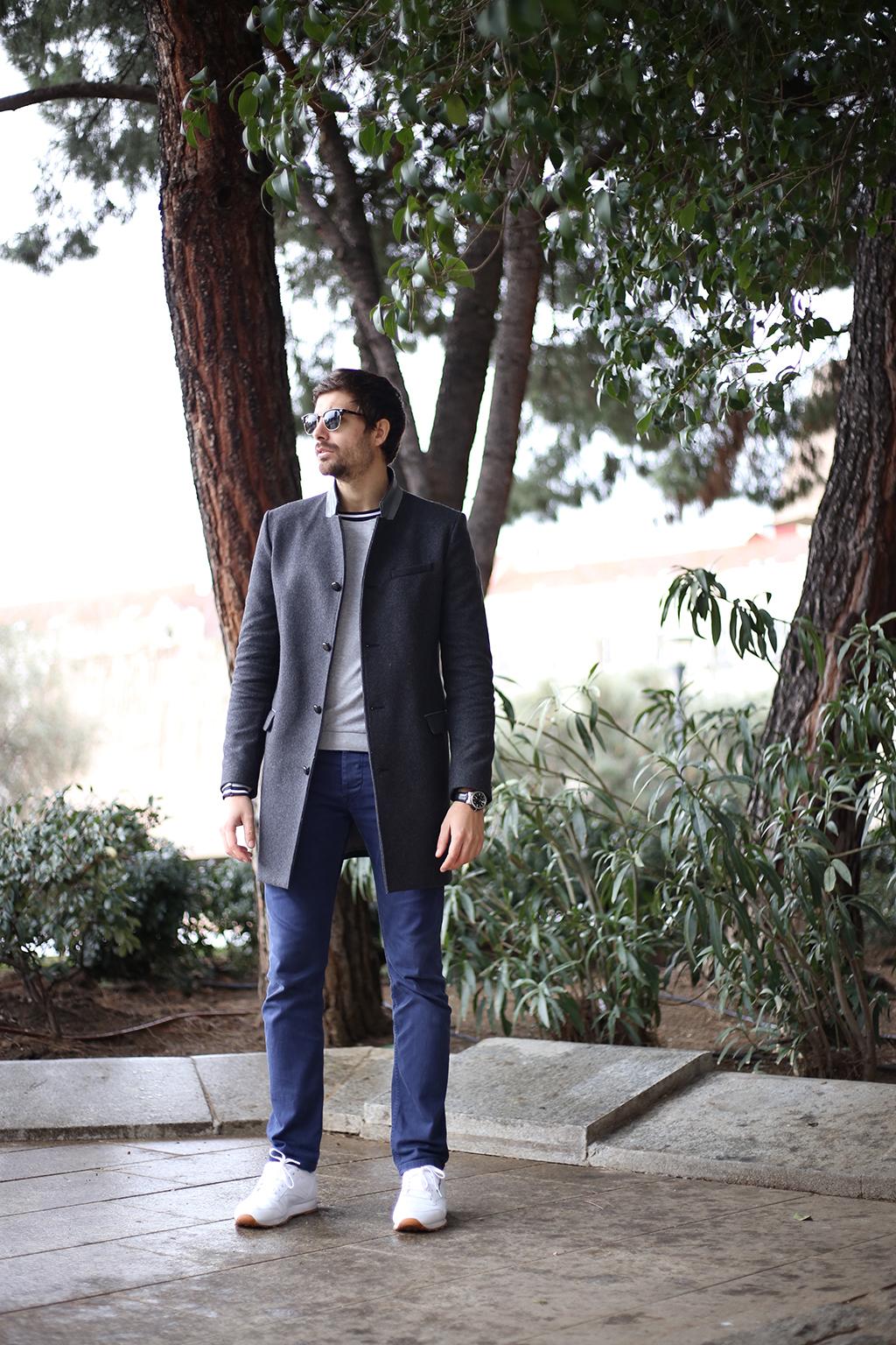 Bow Tie Blue Moda Masculina Man Look 52_2