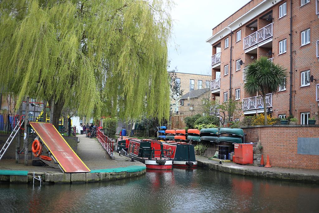 Bow Tie Blue Regent´s Canal Londres_8