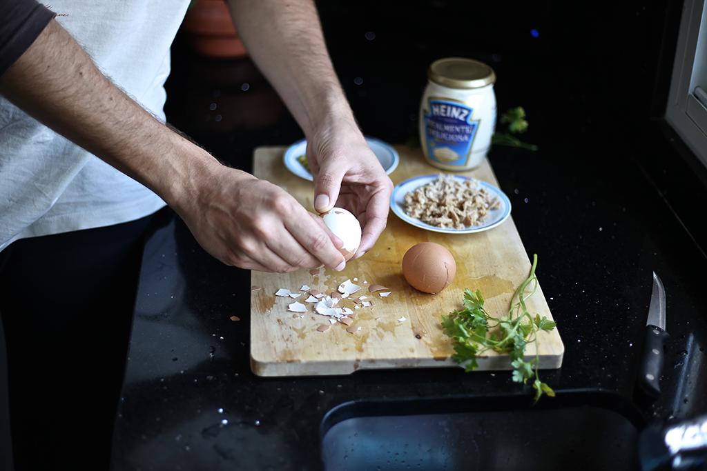 Bow Tie Blue Receta Ensaldilla Rusa con Mayonesa Heinz Realmente Deliciosa_7