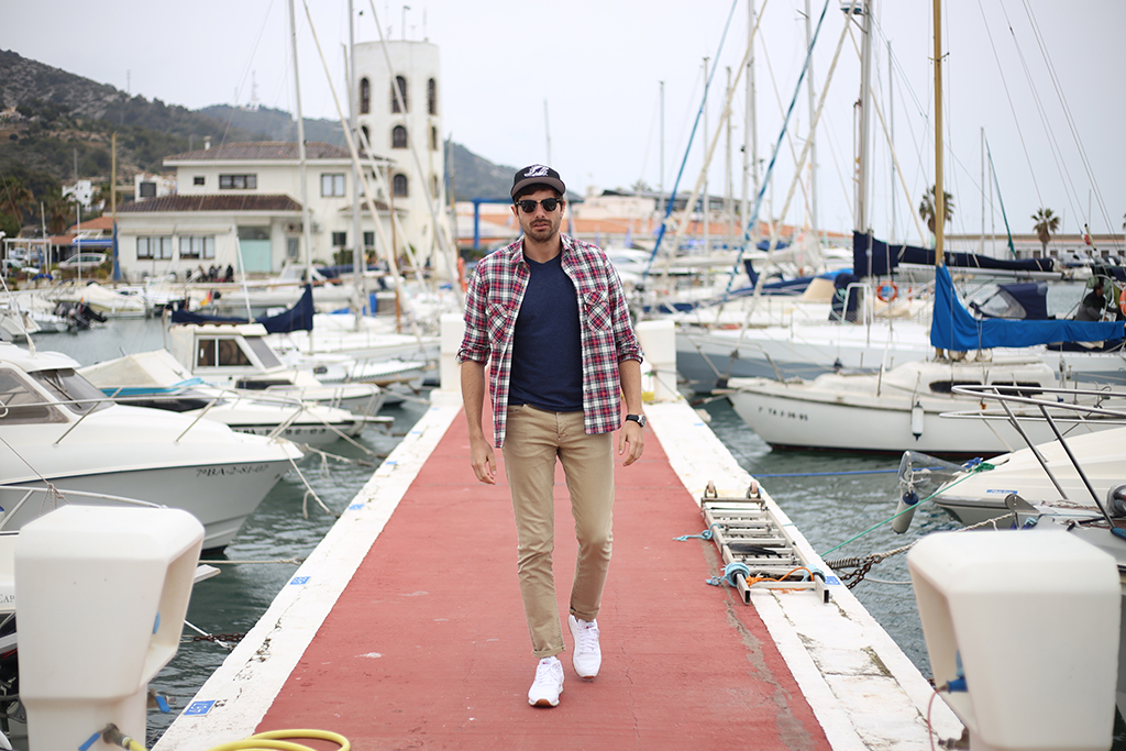 Bow Tie Blue Sitges Man Look 55_4