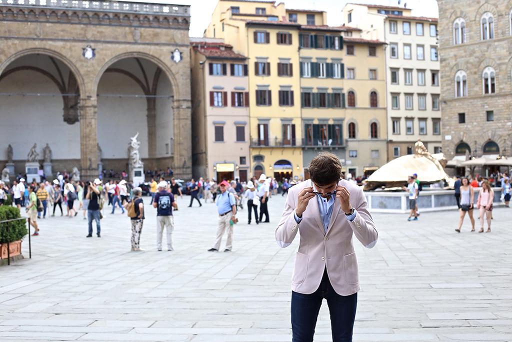Bow Tie Blue Ferragamo Ponte Vecchio Florencia_27